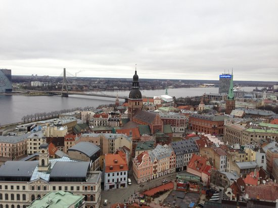 View of Riga from St Peter's Church Tower: Вид сверху