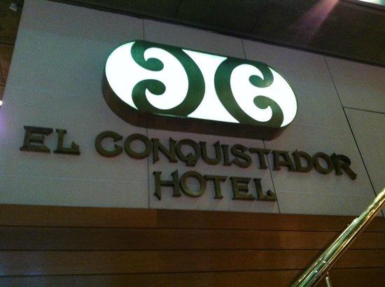 El Conquistador Hotel: Entrada
