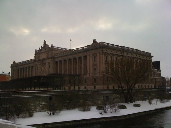 Parliament Building (Riksdagshuset): View from outside