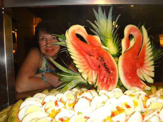 Dreams La Romana Resort & Spa: в ресторане
