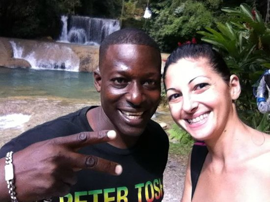Everald's Jamaica Private Day Tours: everald e sara