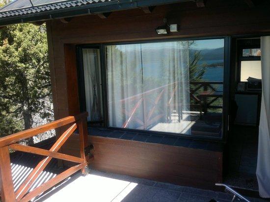 Catalonia Sur Aparts & Spa : balcon