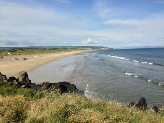 Strandeen Bed and Breakfast: The beach