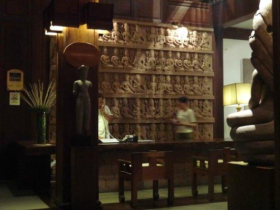 Belmond La Résidence d'Angkor: Reception