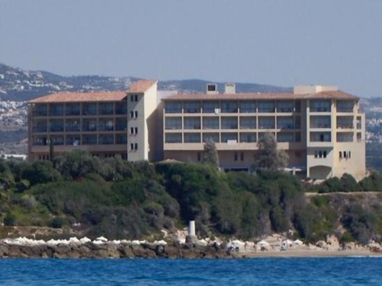 "SENTIDO Thalassa Coral Bay: ""Sunset"" Western face of the hotel."