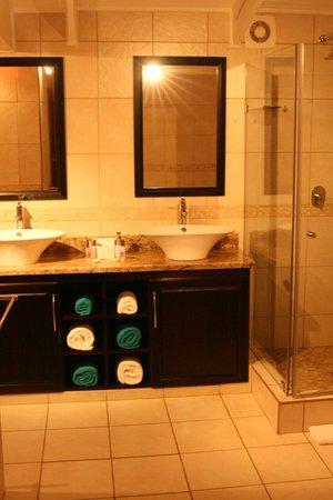 Aquamarine Guest House : Luxury bathroom