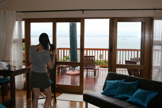 Aquamarine Guest House : Good morning wonderful view