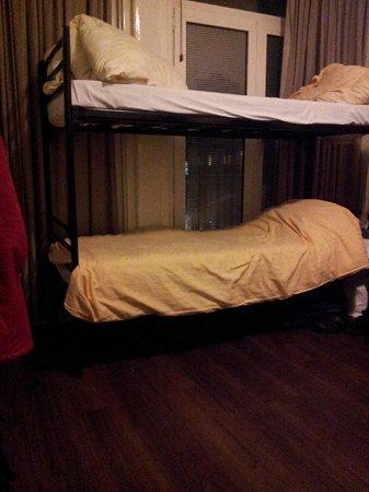 Amigo Budget Hostel: внутри номера