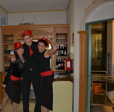 Hotel Cristallo: camerieri molto simpatici,e allegri