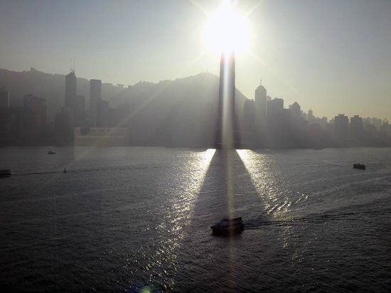 InterContinental Hong Kong : View from Suite 1516