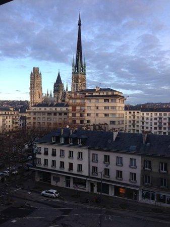 Ibis Styles Rouen Centre Cathedrale: Vue de la chambre 58