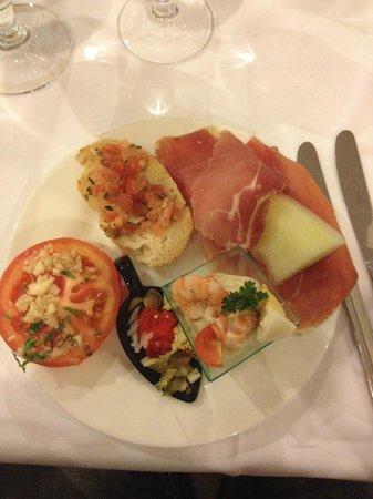 ClubHotel Riu Vistamar : Lækker appetizer
