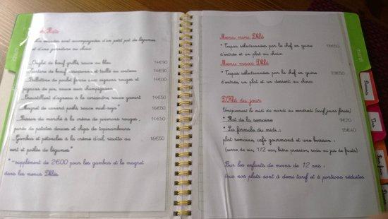DKle : Original menu