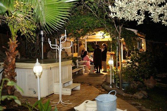 Pina Balev: in the garden...