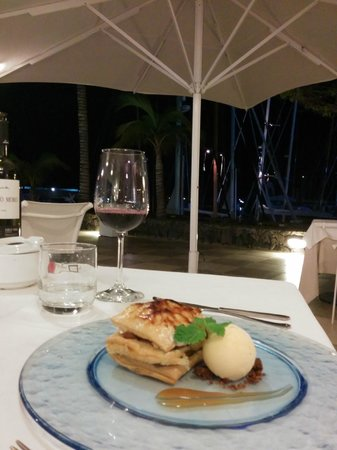 restaurante Amura: a delicious dish and view into the habour