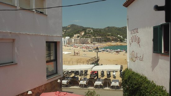 Hotel Cap d'Or : View from single room