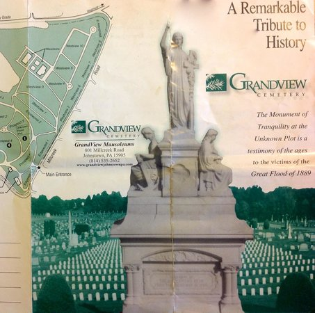 Grandview Cemetery: A very useful guide to the cemetery is available