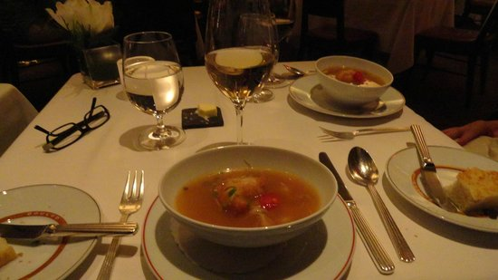 Cafe Boulud: sopa thai