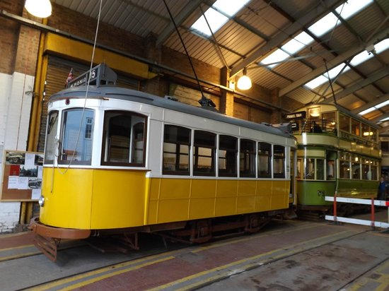 Wirral Transport Museum: On shed