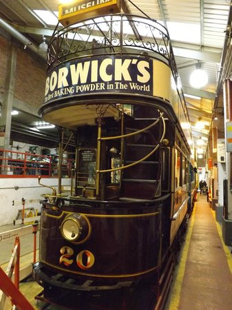 Wirral Transport Museum: In the shed