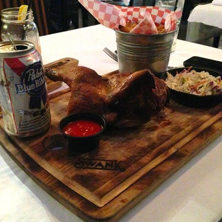 Swank Southern Kitchen: Beer Can Chicken