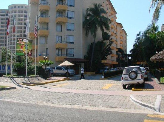 Hotel Fontan Ixtapa: entrada