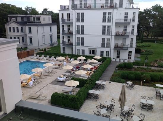 Steigenberger Grandhotel und Spa: Blick vom Zimmer