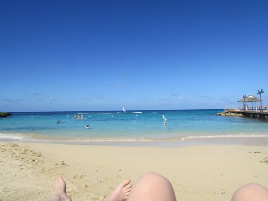 Sandals Ochi Beach Resort: ocean