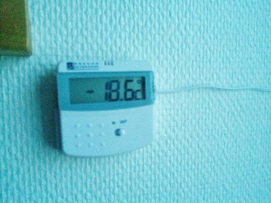 Comfort Hotel Arctic: Utetermometer på rommet