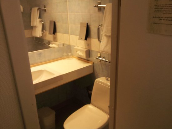 Comfort Hotel Arctic: Toalett