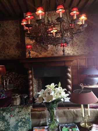 Hotel de Orangerie: Living room