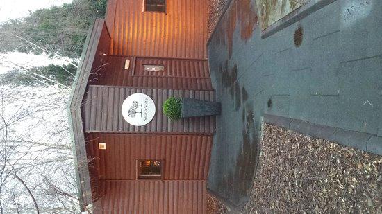 The Fairlawns Spa: outside saunas