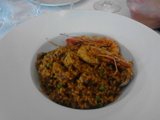 Restaurant Sa Jambina: El arroz!! Generosas raciones