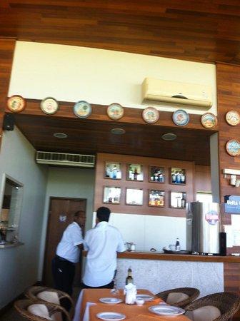 Papaguth : salão do restaurante