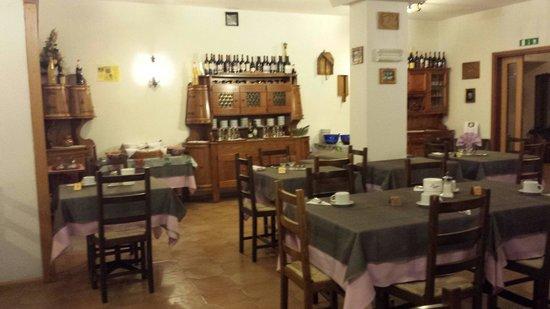 Hotel La Rondinella: Sala ristorante