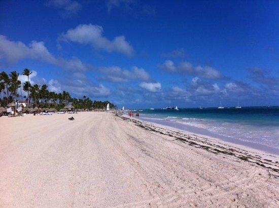 Paradisus Palma Real Golf & Spa Resort : Beach Walk