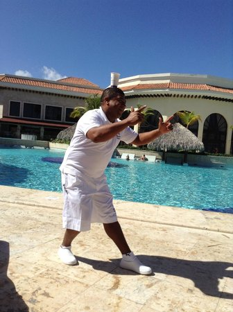 Paradisus Palma Real Golf & Spa Resort : The wonderful Luis