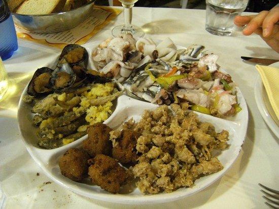 Ristorante Lu Cannizzu: antipasto in piatto unico per due