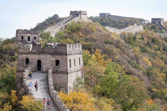 Gran Muralla China en Mutianyu: Great Wall at Mutianyu