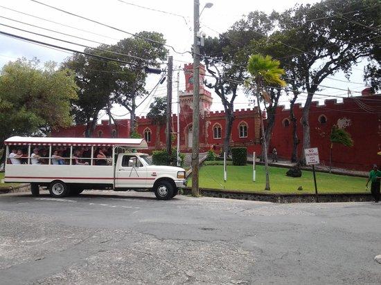 Main Street: our tour vehicle