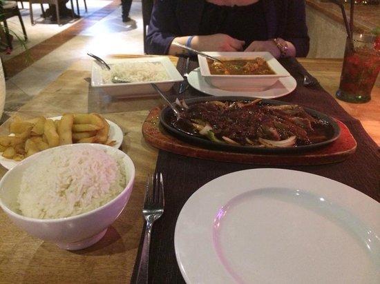 Oriental Garden Restaurante: crispy cantonease duck