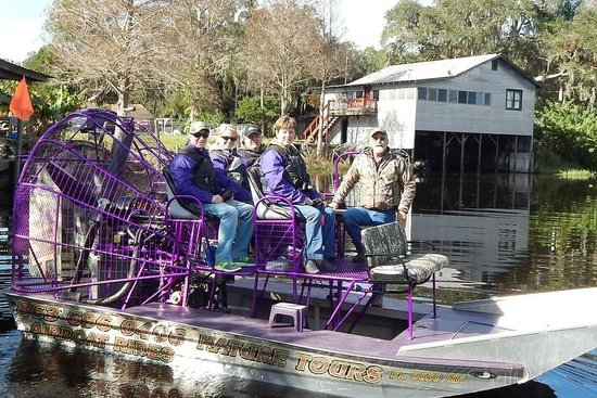 Alligator Cove Airboat Nature Tours: Airboat Ride