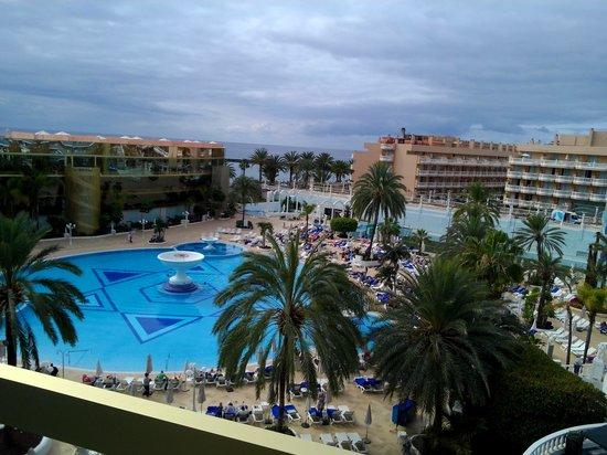 Mediterranean Palace Hotel: utsikt från balkongen