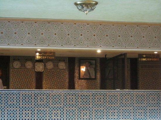 Hotel Sofia : Recepción