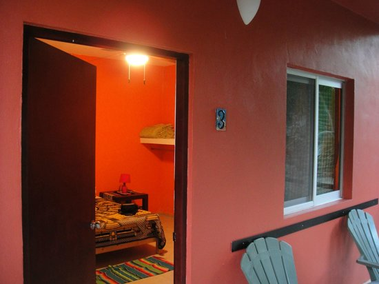 Villa Tortugas Residence : terraza de habitacion