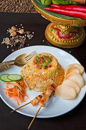 Red Rice Restraunt: Nasi Goreng