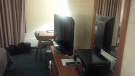 Comfort Inn Monticello : The Flat Screen TV