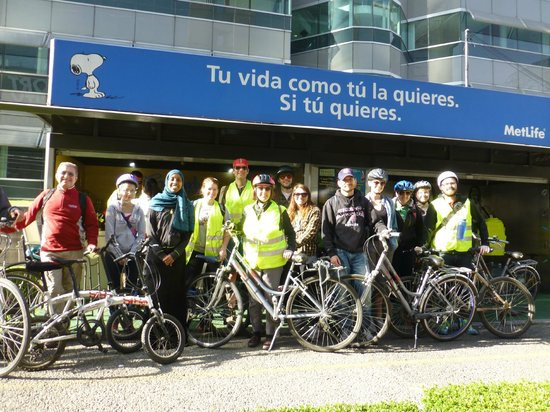 "Mexico Bike Tour: Augsburg College ""Striving for Sustainability"" class"