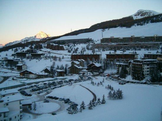 Grand Hotel Duchi d'Aosta: Vista dalla camera...bellissimo!!!