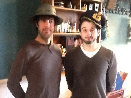 The Lindores Coffee House: Nice hats